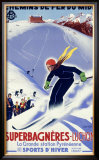 Luchon, Sports d'Hiver Framed Giclee Print