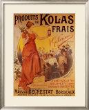 Produits de Kolas Frais Prints by Louis Tauzin