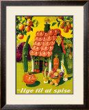 Lige Til at Spise Framed Giclee Print by  Vonsild