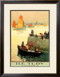 Ile Tudy Posters by  Alo (Charles-Jean Hallo)