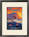 Fly to Hawaii Poster by M. Von Arenburg