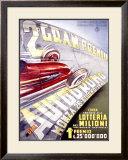 Gran Premio Autodromo Framed Giclee Print by Franco Codognato
