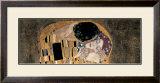 The Kiss (detail) Art by Gustav Klimt