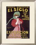 El Siglo Exposicion Framed Giclee Print by Leonetto Cappiello