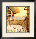 Expo Universelles Bruxelles, 1910 Framed Giclee Print by Henri Cassiers