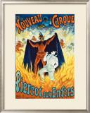 Nouveau Cirque Framed Giclee Print
