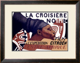 La Croisiere Noire Framed Giclee Print by Basil Schoukhaeff