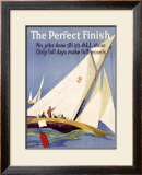 The Perfect Finish Framed Giclee Print by Frank Mather Beatty