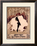 Le Frou-Frou Framed Giclee Print by Lucien-Henri Weiluc