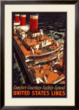 United States Lines Prints by Pike