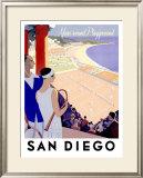 Year Round Playground, San Diego Framed Giclee Print
