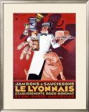 Le Lyonnais Framed Giclee Print by Henry Le Monnier