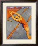 Grand Fete Nautique Framed Giclee Print