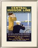 Central Hudson Line Framed Giclee Print
