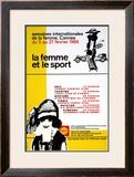 La Femme Et Le Sport Prints