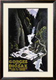 Gorges de la Diosaz Framed Giclee Print by Roger Broders