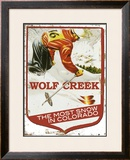 Wolf Creek, The Most Snow In Colorado Framed Giclee Print