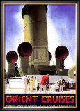 Orient Cruises Prints by Andrew Johnson