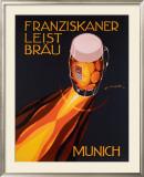 Bierre Munich Framed Giclee Print by Edmond Maurus