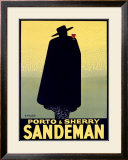 Sandeman Framed Giclee Print by Georges Massiot