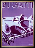 Bugatti Framed Giclee Print by  Gerold
