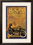 B.S.A. Motor Bicycles Prints