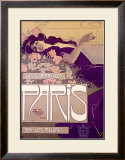 Cigarrillos Paris Framed Giclee Print by Aleardo Villa