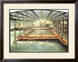 Sutro Baths, San Francisco Framed Giclee Print
