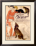 Clinique Cheron Framed Giclee Print