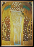 Embracement Prints by Gustav Klimt