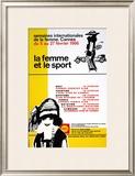 La Femme Et Le Sport Art