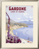 Lago di Garda Framed Giclee Print