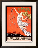 May Day: Long Live the Festival of the Workers of All Countries Framed Giclee Print by  Ivanov