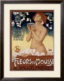 Fleur de Mousse Framed Giclee Print by Leopoldo Metlicovitz