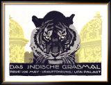 Das Indische Grabmal Framed Giclee Print by Ludwig Hohlwein