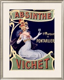 Absinthe Vichet Framed Giclee Print by  Nover
