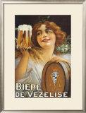 Biere de Vezekise Print by  Guerzan