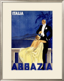 Abbazia Framed Giclee Print by W. Zalina