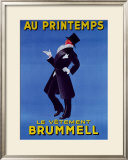 Au Printemps Framed Giclee Print