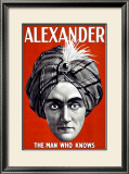 Alexander the Great Framed Giclee Print