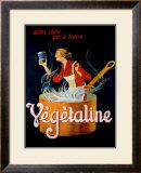 Vegetaline Framed Giclee Print