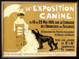 36th Exposition Canine de Briard Framed Giclee Print by Edouard Doigneau