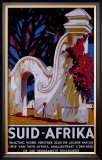 Suid Afrika Framed Giclee Print by J. Térence Mclaw