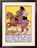 Sevilla Framed Giclee Print