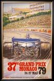 Monaco Grand Prix, 1979 Print by Alain GIAMPAOLI