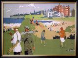St. Andrews, LNER, 1920s Framed Giclee Print by Henry George Gawthorn