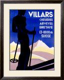 Villars Framed Giclee Print by Johannes Handschin