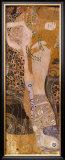 Serpentes d'água I, cerca de 1907 Pôsters por Gustav Klimt