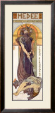 Medee, Sarah Bernhardt Framed Giclee Print by Alphonse Mucha