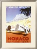 7th Grand Prix Automobile, Monaco, 1935 Posters by Geo Ham